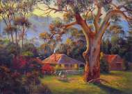 Early Morning - Mansfield (BL01108), a 1000 piece jigsaw puzzle by Blue Opal and artist John Bradley. Click to view this jigsaw puzzle.
