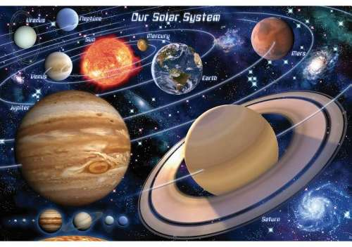 The Solar System Giant Floor Puzzle Jigsaw By David