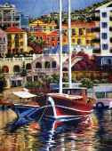 Exotic Harbor (Large Pieces) (RB14948-3), a 500 piece Ravensburger jigsaw puzzle.