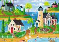 Summer by the Sea (Large Pieces) (RB14874-5), a 500 piece Ravensburger jigsaw puzzle.