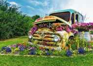 Flower Truck (Large Pieces) (RB14885-1), a 500 piece Ravensburger jigsaw puzzle.
