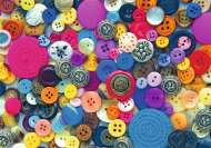 Buttons (Large Pieces) (RB14877-6), a 500 piece Ravensburger jigsaw puzzle.