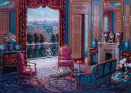 The Sitting Room (Large Pieces) (RB14886-8), a 500 piece Ravensburger jigsaw puzzle.