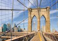Brooklyn Bridge New York (RB19424-7), a 1000 piece Ravensburger jigsaw puzzle.