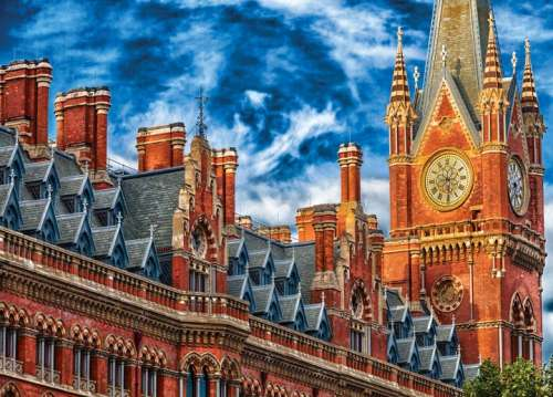 Big Ben (Suitcase Box) (MP71448), a 1000 piece jigsaw puzzle by Masterpieces. Click to view larger image.