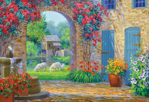 Whisper of Serenity (HOL096480), a 500 piece jigsaw puzzle by Holdson. Click to view larger image.