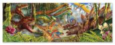 Dinosaur World Floor Puzzle (MND8908), a 200 piece Melissa and Doug jigsaw puzzle.