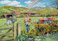 The Farmer (HOL096343), a 1000 piece Holdson jigsaw puzzle.