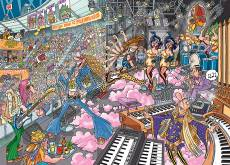 Old Time Rockers (Destiny Wasgij 16) (HOL97630), a 1000 piece Holdson jigsaw puzzle.