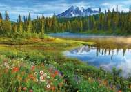Rainier Reflections (EDU16309), a 1500 piece Educa jigsaw puzzle.