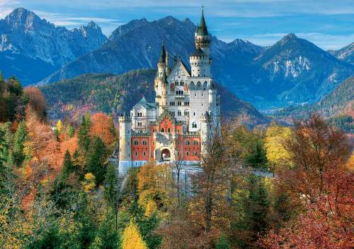 Neuschwanstein Castle (Large Pieces) (EDU16744), a 300 piece jigsaw puzzle by Educa. Click to view larger image.
