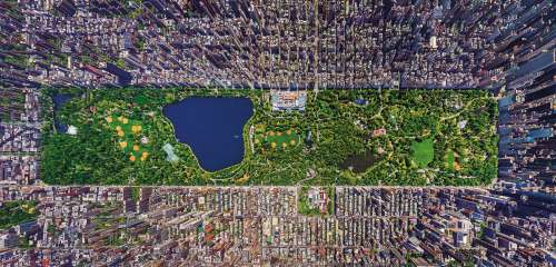 Central Park, New York (EDU16781), a 3000 piece jigsaw puzzle by Educa. Click to view larger image.