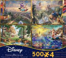 Disney Kinkade Collection (CEA3667), a 500 piece Ceaco jigsaw puzzle.