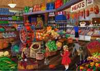 Grocery Store (Love to Shop) (HOL097579), a 1000 piece jigsaw puzzle by Holdson and artist Joseph Burgess. Click to view this jigsaw puzzle.