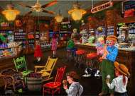Ice Cream Parlour (Love to Shop) (HOL097562), a 1000 piece Holdson jigsaw puzzle.