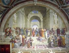 The School of Athens. Click to view this product