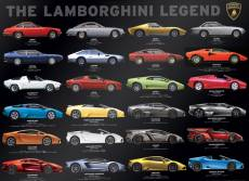 The Lamborghini Legend (EUR60822), a 1000 piece Eurographics jigsaw puzzle.