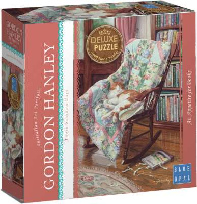 Appetite for Books (BL01933), a 1000 piece jigsaw puzzle by Blue Opal. Click to view larger image.