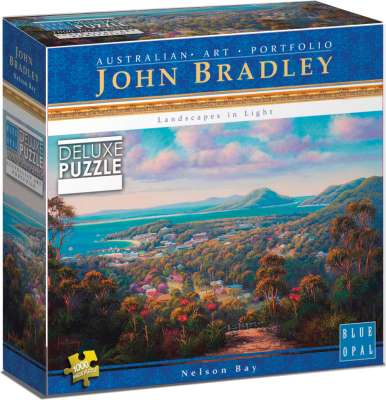 Nelson Bay (BL01915), a 1000 piece jigsaw puzzle by Blue Opal. Click to view larger image.