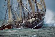 Belem, The Last French Tall Ship (CLE 39350), a 1000 piece Clementoni jigsaw puzzle.