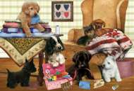 Playful Puppies (HOL095773), a 300 piece Holdson jigsaw puzzle.