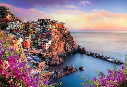 Cinque Terre (TRE26137), a 1500 piece jigsaw puzzle by Trefl. Click to view larger image.