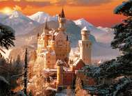 Neuschwanstein Castle Winter (TRE33025), a 3000 piece Trefl jigsaw puzzle.