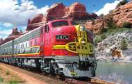 Santa Fe Super Chief (SUN24505), a 1000 piece Sunsout jigsaw puzzle.