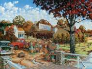 Stone Creek Farm (Large Pieces) (SUN19501), a 300 piece Sunsout jigsaw puzzle.