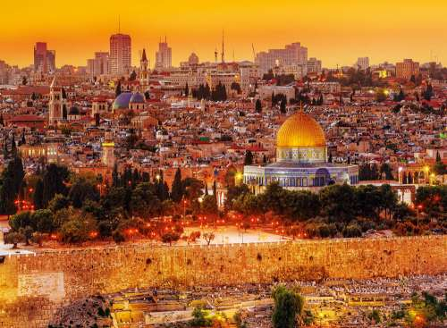 Jerusalem, Israel (TRE33032), a 3000 piece jigsaw puzzle by Trefl. Click to view larger image.