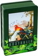 Australian Parrots (Tin Box) (AAA020102), a 1000 piece Post-Age jigsaw puzzle.