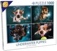 Underwater Puppies (CHE28224), a 1000 piece Cheatwell Games jigsaw puzzle.