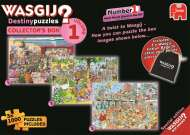 Wasgij Destiny Collectors Box 1 (3-in-1) (JUM19124), a 1000 piece jigsaw puzzle by Jumbo and artist Graham Thompson. Click to view this jigsaw puzzle.
