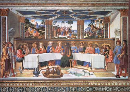 The Last Supper (CLE 39289), a 1000 piece jigsaw puzzle by Clementoni. Click to view larger image.