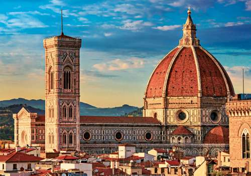 Cathedral of Santa Maria del Fiore, Florence (TRE10381), a 1000 piece jigsaw puzzle by Trefl. Click to view larger image.