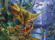 Dinosaur Valley (3D Effect) (CLE 39261), a 1000 piece jigsaw puzzle by Clementoni. Click to view this jigsaw puzzle.