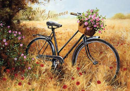 Farewell Summer (TRE10406), a 1000 piece jigsaw puzzle by Trefl. Click to view larger image.