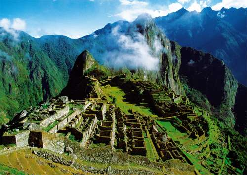 Machu Picchu (The Lost City of the Incas) (TRE10209), a 1000 piece jigsaw puzzle by Trefl. Click to view larger image.