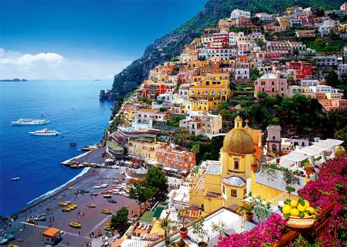 Positano, Italy (TRE37145), a 500 piece jigsaw puzzle by Trefl. Click to view larger image.