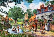 Country Idyll (TRE26121), a 1500 piece jigsaw puzzle by Trefl and artist Steve Crisp. Click to view this jigsaw puzzle.