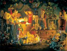 The Reason for the Season (SUNIN47050), a 500 piece Sunsout jigsaw puzzle.