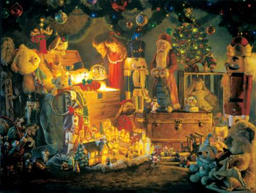 The Reason for the Season (SUNIN47050), a 500 piece jigsaw puzzle by Sunsout. Click to view larger image.