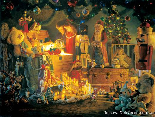 The Reason for the Season (SUNIN47050), a 500 piece jigsaw puzzle by Sunsout.