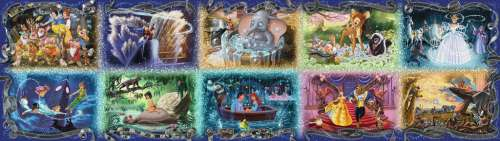 Memorable Disney Moments 40000pc (RB17826-1), a 40320 piece jigsaw puzzle by Ravensburger. Click to view larger image.