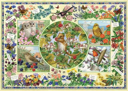Country Garden (JUM11131), a 1000 piece jigsaw puzzle by Jumbo. Click to view larger image.