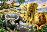 The Big Five (EDU16748), a 1000 piece Educa jigsaw puzzle.