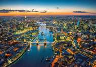 London Aerial View (EDU16765), a 1500 piece Educa jigsaw puzzle.