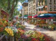 Paris Flower Market (ANA3106), a 1000 piece jigsaw puzzle by Anatolian and artist Sam Park. Click to view this jigsaw puzzle.