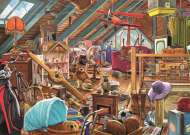 Toys in the Attic (JUM11128), a 1000 piece Jumbo jigsaw puzzle.
