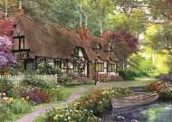 Carpenter's Cottage (Large Pieces) (JUM11141), a 200 piece Jumbo jigsaw puzzle.